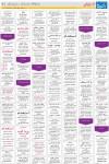 روزنامه استخدامی استان خراسان رضوی و شهر مشهد |سه شنبه ۲۱ مهر ۹۴, جدید 1400 -گهر